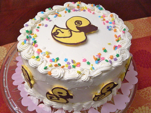 Happy Duck Cake