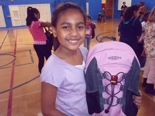 KEEN Backpacks Donated to John James Elementary