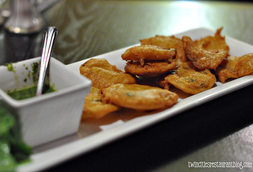 Potato Fritters at Taj Indian Grill ~ Minneapolis, MN