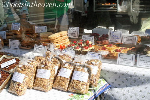 Granola and baked goods