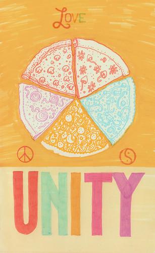 love, peace, balance, unity