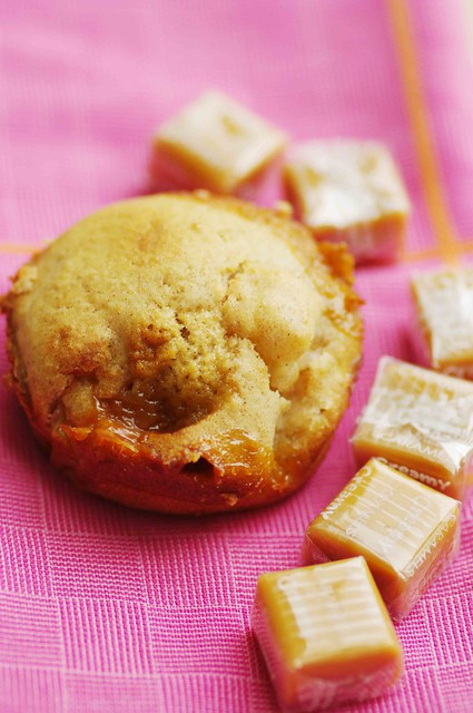 Apple Caramel Muffins