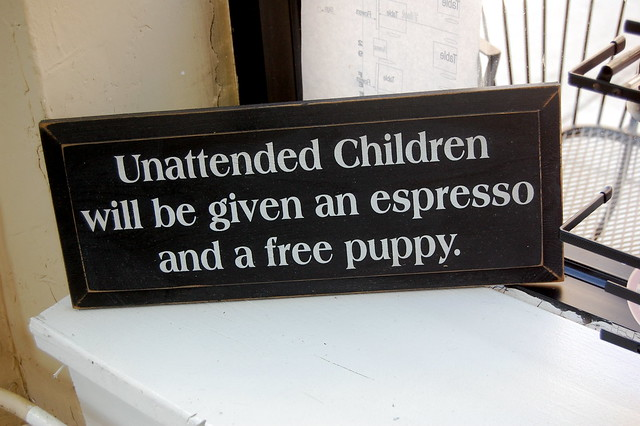 unattended children