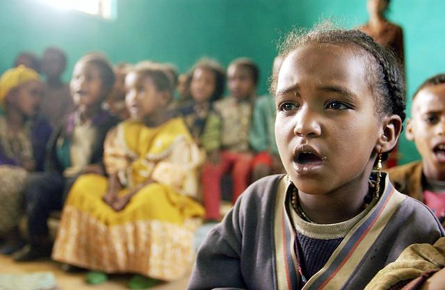 Ethiopian Schoolchildren