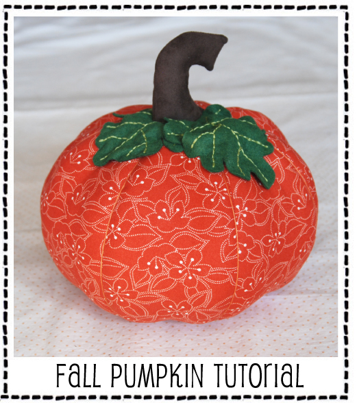 Fall Pumpkin Tutorial