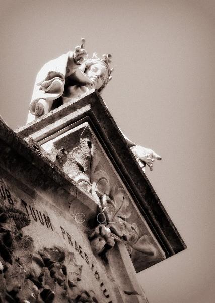 Chapelle des Bures (sépia)