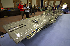 INTREPID COMPLETE (Lego Monster) Tags: ship lego aircraftcarrier usnavy carrier worldwar2 essexclass