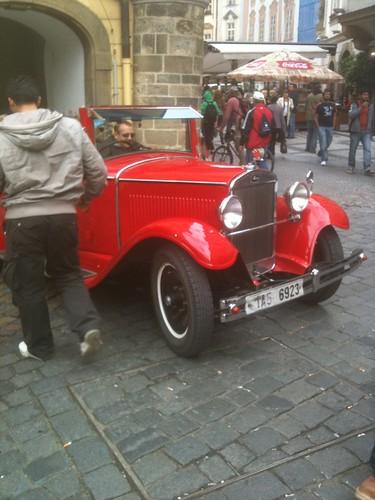 Vintage Car Prague