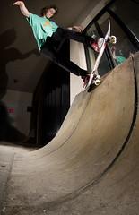 Joe Pivot Fakie (RobSalmon) Tags: uk west robert digital canon lens eos skateboarding yorkshire united leeds salmon kingdom joe rob fisheye tokina skater pivot dslr winters skateboarder fakie 1017mm 40d