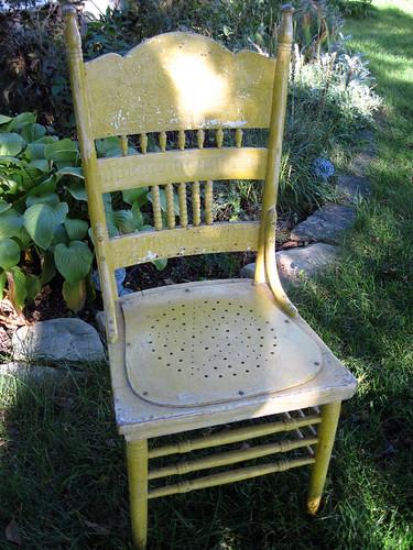 Yellow Chair-Needs Work