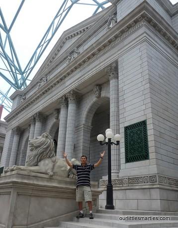 V at the NY Public Library