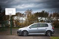 VW Golf GTI 30 Edition (KristjnFreyr) Tags: car playground basketball sport 30 vw canon golf volkswagen photo iceland model wheels l 5d gti 18 polarizer edition reykjavk f28 2007 bll mk5 2470