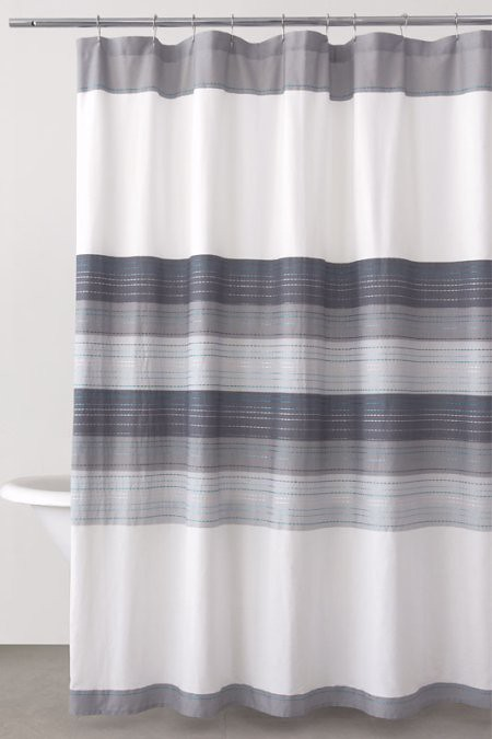 dkny shower curtain