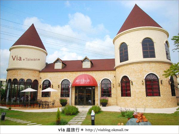 【台中】富林園洋菓子~夢幻童話建築及蛋糕的美妙結合2