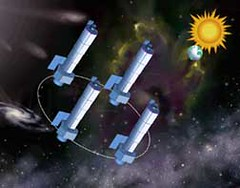 Artists rendering of the Constellation-X observatory