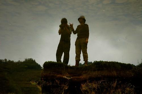 松羅湖 影