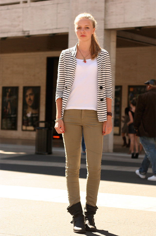 Military chic is not a trend.