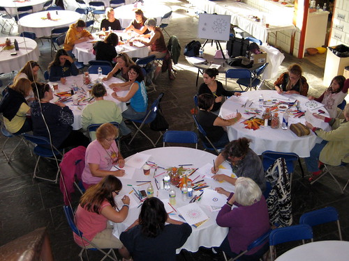 My Mandala workshop at Circle of Trees Retreat