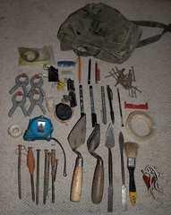 whats in your archaeology bag (loungelover31) Tags: whatsinyourbag archeaology