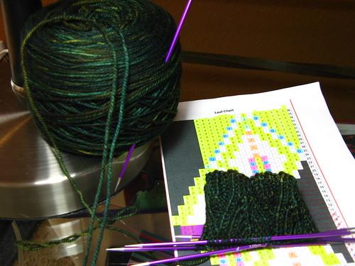 Sybaritic Socks & Bugga yarn
