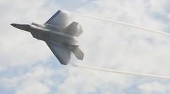 "IMG_8853    F-22 ""Raptor"" @ Miramar Air Show (saxxon57) Tags: airplanes airshow helicopters blueangels miramar snowbirds aviones helicopteros miramarairshow2010"