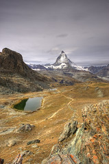 Matterhorn (Or Hiltch) Tags: pictures autumn wallpaper sky lake snow mountains alps green art nature water beautiful clouds landscape schweiz switzerland landscapes high nikon europe heaven paradise view image valley backgrounds zermatt matterhorn pathway mostbeautifulplacesoftheworld