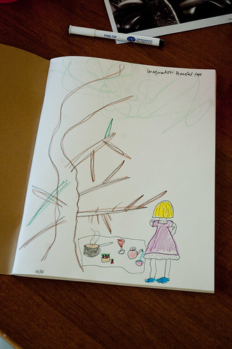 Peaceful Tree - drawing with Jessica