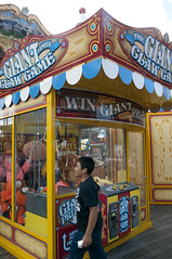 Big Crane Machine, Pier 39, Fisherman's Wharf, San Francisco