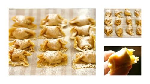 agnolotti di zucca (pumpkin ravioli)