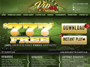 VIP Slots Casino Home