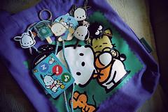 pochacco (chellez bellz) Tags: necklace keychain sanrio tote lanyard pochacco