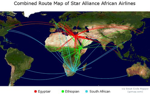 Star Alliance African Airlines
