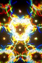 LED Kaleidoscope (- Hob -) Tags: lightpainting raw kaleidoscope led lightjunkies