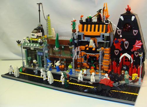 Brick Town Talk: Halloween Street - LEGO Town, Architecture ...