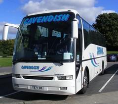 Cavendish Coaches . Tonyrefail , Porth , Mid-Glamorgan . Y97FBK