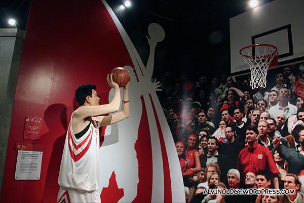 NBa giant, Yao Ming