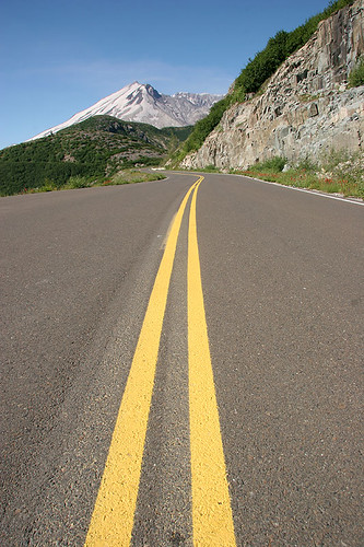 Road to Windy Ridge - Mt St Helens