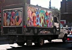 Hueso x Marty (Now It's Real!) Tags: new york city nyc ny smart graffiti manhattan graf crew trucks graff hueso marty picnik hso dcever dceve