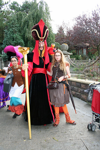 With Jafar and Iago