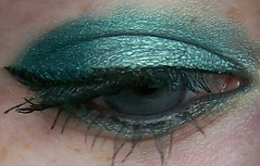 teal/steamy look