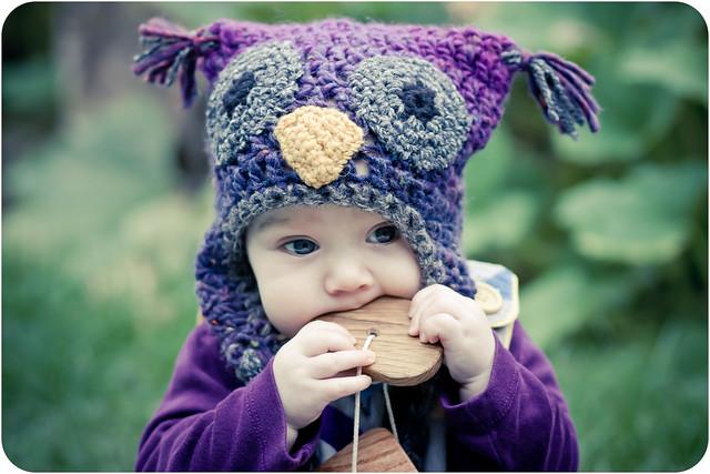 Ravelry Woolly Owl Hat Pattern By Kat Goldin