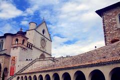 Basilica Superiore (Birnardo) Tags: panorama italia basilica gita assisi umbria sanfrancesco digitalcameraclub kartpostal