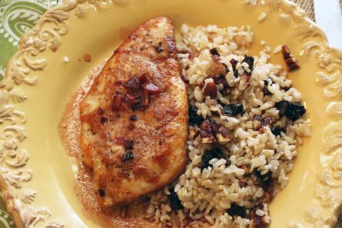 Chicken Pomeganate