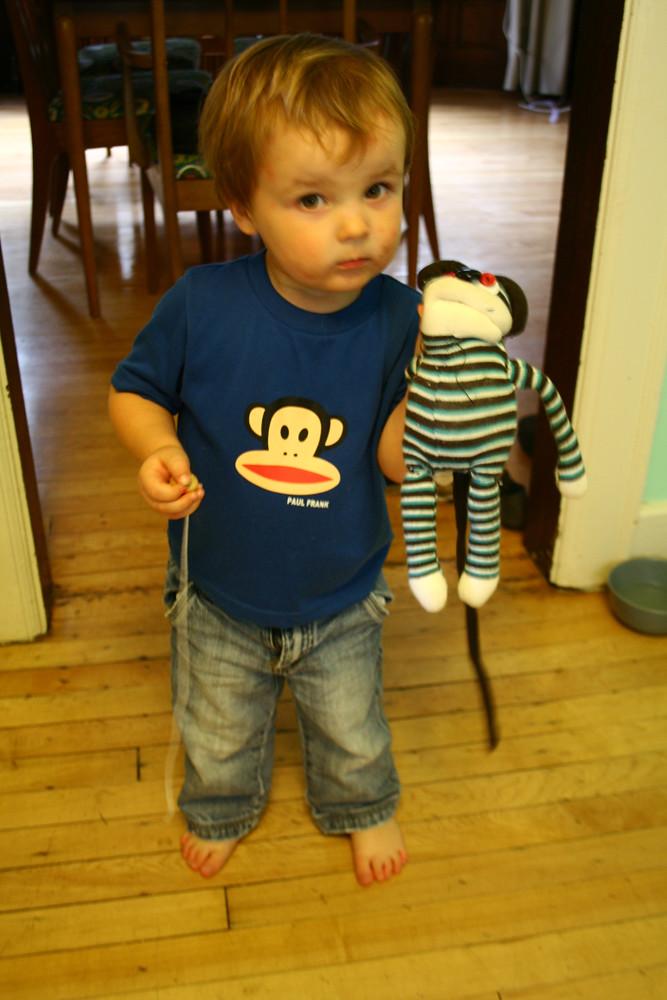 Finn and Monkey