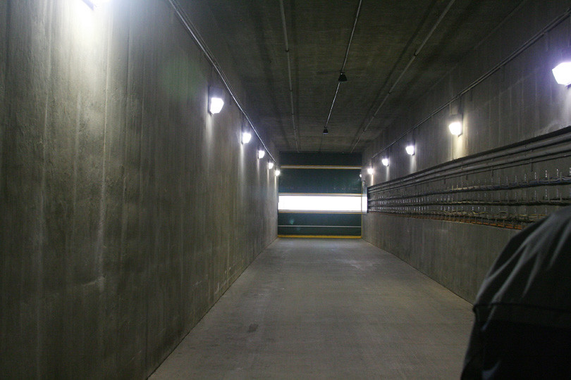 Tunnel to Lambeau Field
