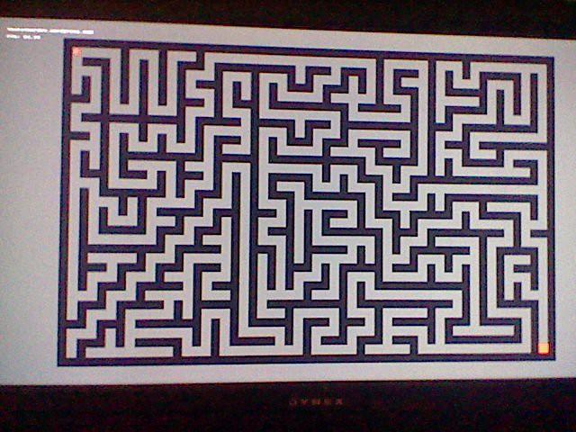 Homebrew]Maze Generator, juego del laberinto  en PlayStation