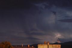 October lightning 3 (angeldominguez) Tags: sky cloud storm clouds spain murcia cielo nubes tormenta lightning rayo lorca nube espana relampago