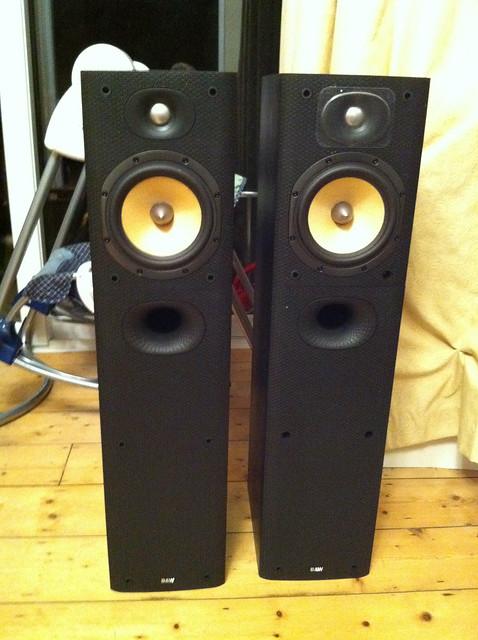 B&W DM602.5 S3 Floorstanding Speakers (SOLD) 5071350662_65a8401e6f_z