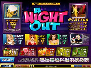 free A Night Out slot mini symbol