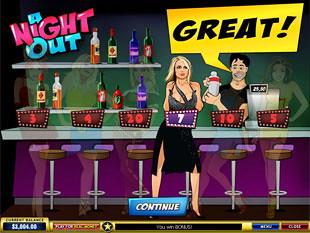 free A Night Out slot bonus prize